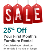 25 Percent Off First Month